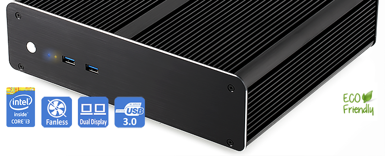 Noiseless, fanless, efficient